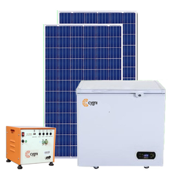 100 L Solar Refrigerator Combo Pack