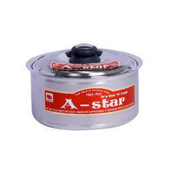 A Star Stainless Steel casserole, for Home