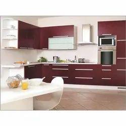 Italic Frame Modular Kitchen Designing Services