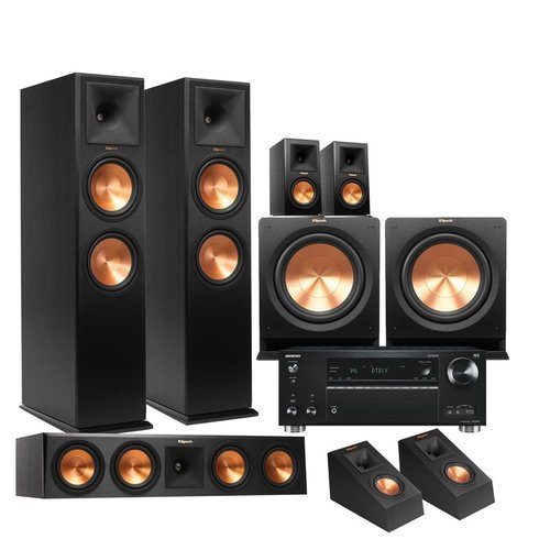 klipsch rp 160m. Klipsch Rp-280f 5.2.2 Reference Premiere Dolby Atmos Home Rp 160m