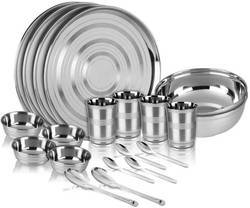 20 Pcs Stainless Steel Dinner Set