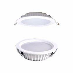 18 Watts Warm White Panel Light, Shape: Round