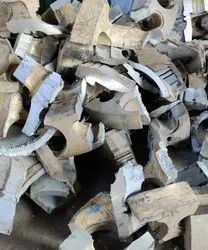 6% Zn Silver Aluminum High Zink Scrap, For Melting, Size: Mix