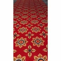Red Printed Tent Matting Roll