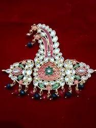 Traditional German Silver Kalangi Brooches, Jewellery Type: Groom Wear