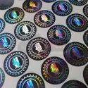 Round Holographic Stickers