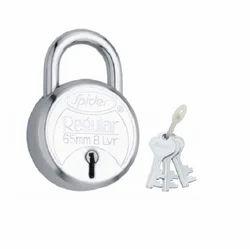 Spider Regular Pad Lock, Chrome