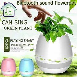 Music Flower Pot Bluetooth Wireless Speaker
