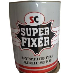 Liquid Super Fixer Synthetic Adhesives, Grade Standard: Industrial Grade, Packaging Type: Can