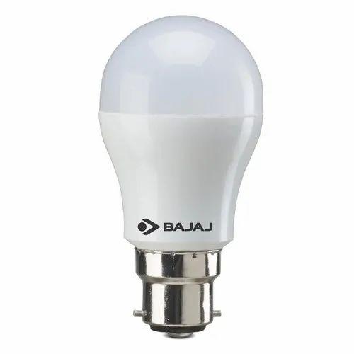 Cool Daylight Bajaj 5W LED Bulb, Color Temperature: 6500 K, Voltage: 100 - 265v