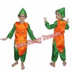 Kids Smiley Carrot Costume