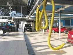 Vehicle Exhaust Reel System