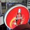 Lollipop Display Flange LED Signage