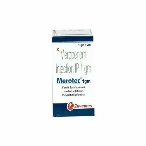 Zuventus Meropenem Merotec Injection, Rs 700 /piece Remedies Planet | ID:  22117358897