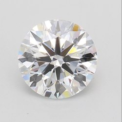 CVD Diamond 2.11ct G VVS2 Round Brilliant Cut IGI Certified Stone