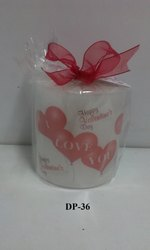 Valentine Pillar Candles