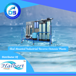 Skid Mounted Industrial Reverse Osmosis Plants