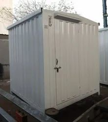 Steel Security Cabin - 6ft x 6ft x 8ft