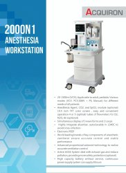 Anesthesia Workstation 2000 N1