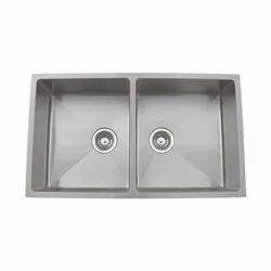 Carysil Double Stainless Steel Kitchen Sink