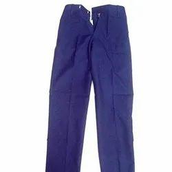 Cotton Blue School Trouser