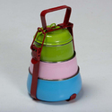 Coloured Lunch Box