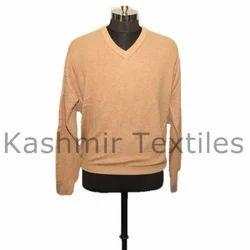 Female Plain Cashmere V Neck Sweater