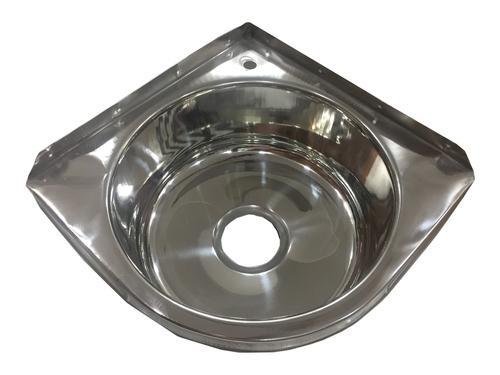 Metal Make Stainless Steel Corner Wash Basin