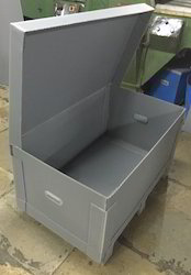 Grey PP Box ,Material Thickness : 2 mm - 12 mm