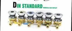 DIN Standard Medical Gas Outlets