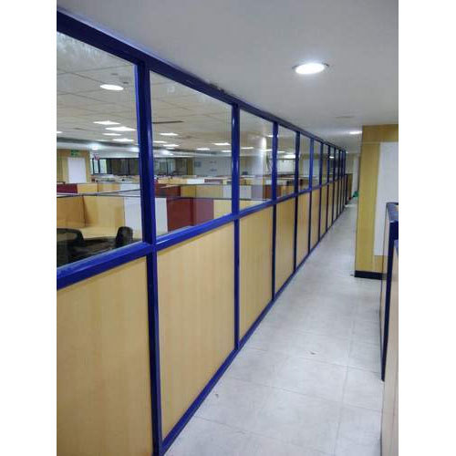 9mm Novopan Board Aluminium Partition Rs 170 Square Feet Ss