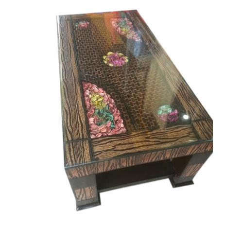 Multicolor Square Wooden Center Table 3 By 3 Rs 8800 Piece Id