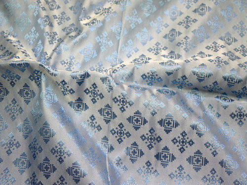 046036f3e9 Indian Jacquard Fabric Crafting Sewing Dress at Rs 600 /meter ...