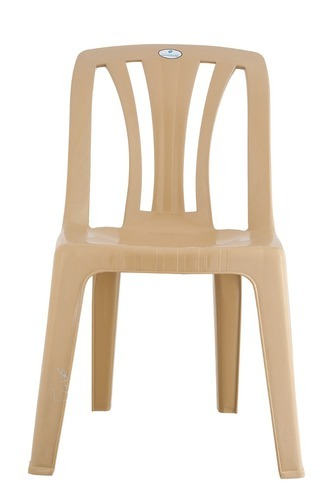 Leader White Handless Plastic Chairs Rs 180 Unit Bhagyalaxmi
