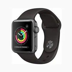 T500 Smartwatch (Black Strap, Free Size)