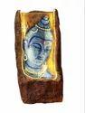 Decorative Buddha Shivji Face Statue Water Fall