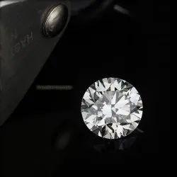 CVD Diamond D Color VVS1 Clarity Round Brilliant Cut IGI Certified Stone