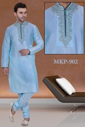 Mens Embroidery Work Kurta Pajamas