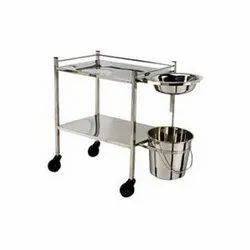 Stainless Steel Wheeled Trolley