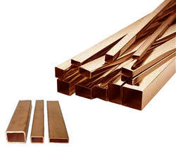 Copper Square and  Rectangular Pipes