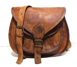 Ladies Handmade Leather Sling Bag