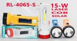 RL-4065S Rock Light 15W Solar Rechargeable Torch