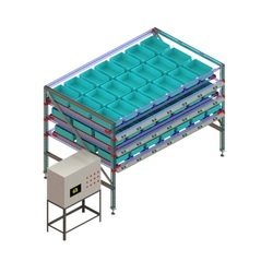 Pick To Light Conveyor System