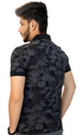 Mens Printed Polo T Shirt