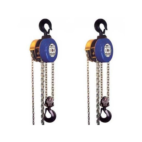 Lifting Tools and Tackles - Chain Pulley Block Wholesale