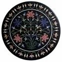 Black Marble Coffee Inlay Table Top