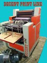 Single colour offset printing machine