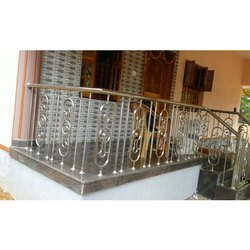 Designed Stainless Steel Balcony Railing