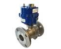 Actuated Electric and Pneumatic Valves