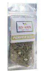 Rich Health Green Pumpkin Seeds, Pack Size: 200gm